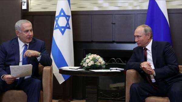 نتنياهو لبوتين: يجب على إيران مغادرة سوريا
