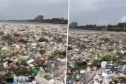 ما حقيقة فيديو النفايات على شاطىء الأوزاعي؟