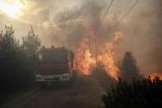 الحرائق المدمرة في 'أتيكا' اليونانية