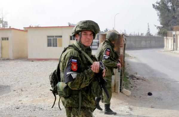 روسيا تؤكد انتشارها أمام المنطقة منزوعة السلاح بالجولان