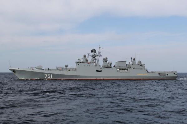 فرقاطة روسية تتعقب غواصة أمريكية في البحر المتوسط