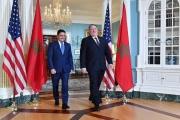 بومبيو ووزير خارجية المغرب يبحثان مواجهة إرهاب إيران