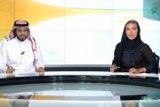 بالفيديو ... أول مذيعة أخبار في تاريخ القناة السعودية الرسمية