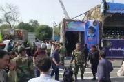 ايران: مقتل 10 عناصر  من الحرس الثوري في اطلاق نار خلال عرض عسكري في الأهواز