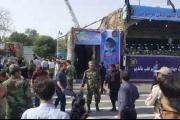 إيران.. هجوم يستهدف عرضاً عسكرياً في الأهواز