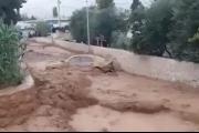 بالصور ... سيول ووحول اجتاحت قرى في البقاع