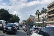 بالصور ... الطرقات أُقفلت اليوم في بيروت...والمواطنون علقوا بسياراتهم