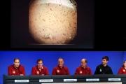 أول صورة للمسبار 'إنسايت' بعد هبوطه الناجح على سطح المريخ
