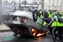 تصاعد العنف في باريس.. معارك كر وفر بين الشرطة والمحتجين