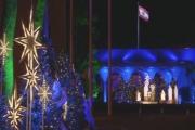 إضاءة شجرة الميلاد في القصر الجمهوري