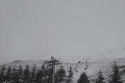 بالصور ... الثلوج الأولى في أعالي كفردبيان...