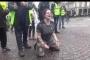 فيديو المتظاهرة الفرنسية: ترجمة مفبركة
