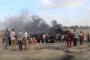 فلسطين المحتلة :8 إصابات بينهم مسعف وصحفيان بعد إطلاق قوات العدو الإسرائيلي قنابل الغاز تجاه المتظاهرين شرق غزة