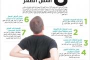 8 أسباب لآلام أسفل الظهر
