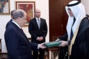 بالصور ... الرئيس عون تسلّم من البخاري أوراق اعتماده