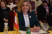 عون روكز تسلمت رئاسة المجلس الاعلى لمنظمة المرأة العربية
