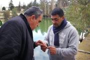 بعد الحديث عن اسماك نافقة في بحيرة الدردارة...فريق من وزارة الزراعة يكشف وهذا ما تبيّن