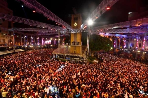 بالصور ... لبنان يحتفل بالعام 2019