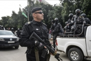 داخلية غزة: توقيف 5 أعضاء بفتح اعتدوا على تلفزيون فلسطين
