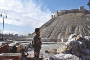 مقتل 6 مدنيين في انهيار مبنى بمدينة حلب