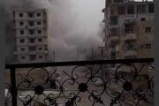 قتلى بتفجير مقر تابع لـ'قسد' وسط الرقة ... وداعش يتبنى