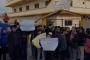 اعتصام لفاعليات ببنين - العبدة أمام مدرسة السلام