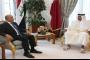 أمير قطر يؤكد لبرهم صالح دعم الدوحة لبغداد سياسياً وأمنياً