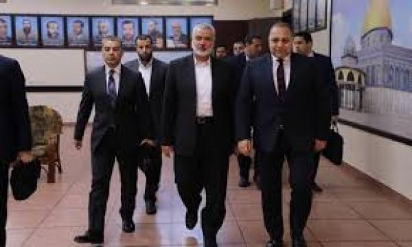 وفد الاستخبارات المصري في غزة وموسكو تلغي زيارة هنية