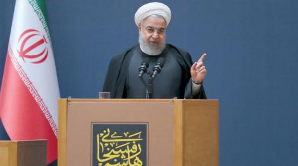 روحاني يعلن إطلاق صواريخ للفضاء خلال أسابيع وسط تحذيرات دولية