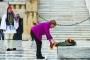ميركل في اليونان تقرّ بـ«مسؤولية» عن الحقبة النازية