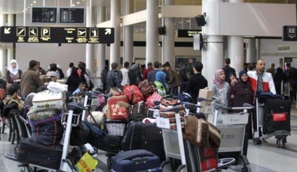 زيادة ملحوظة بنشاط مطار بيروت عام 2018