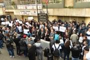 مسيرة من العمل إلى الصحة: رفضا للفساد