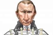 فلاديمير بوتين يلعب الشطرنج مع العالم على رقعة الشرق الأوسط