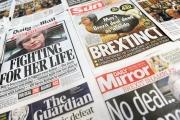 هزيمة ماي المدوية تحظى بعناوين مثيرة في الصحف البريطانية