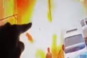 بالفيديو ... مقتل 4 جنود أميركيين وإصابة 3 في تفجير انتحاري في منبج