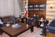 الحريري ترأس الاجتماع المالي الدوري في بيت الوسط