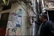 جباة كهرباء يسرقون أهالي مخيم شاتيلا في بيروت