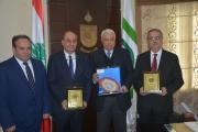 قمر الدين التقى وفدا تركيا وعرض مع وكالة التنمية الإيطالية تأهيل طاحونة الريفي في طرابلس