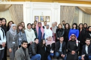 بخاري التقى وفدا شبابيا لبنانيا وسعوديا
