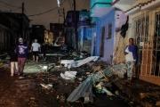 بالصور ... إعصار نادر يفاجئ هافانا ويوقع قتلى وجرحى