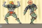مسابقة القوى النووية بين ترامب وبوتين