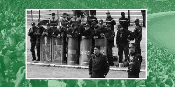 ماذا فعلت شرطة تونس حين رددت جماهير 'الرجاء' المغربي أغنية 'في بلادي ظلموني'؟