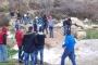 انهيار طريق جسر نهر عين القمر في فنيدق عكار