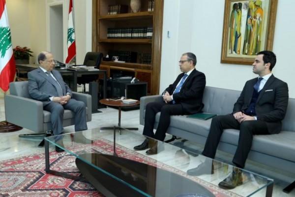 عون تسلم دعوة من السيسي لحضور القمة العربية الاوروبية