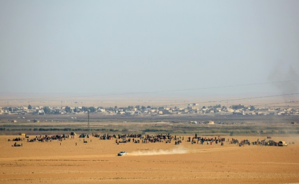 سوريا ... قتلى وجرحى من عناصر المخابرات الفرنسية بتفجير مقرهم في الرقة