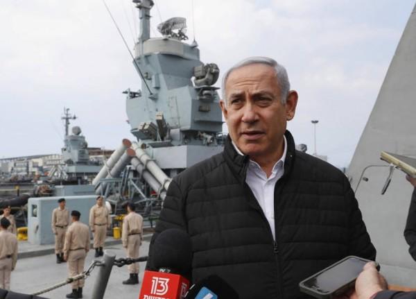 نتنياهو من قاعدة حيفا العسكرية: بإمكان صواريخنا الوصول إلى كل عدو