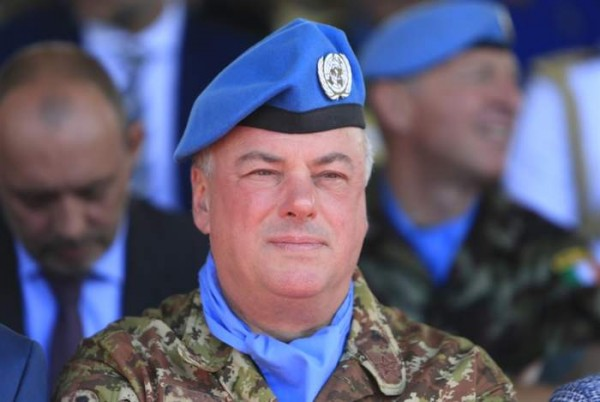 قائد اليونيفيل تفقد المنطقة المتحفظ عليها لبنانيا قبالة طريق كفركلا