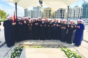 مفتي الجمهورية أمام ضريح الحريري: مسيرتك مستمرة ونجلك راعٍ لها