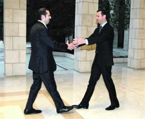 بالفيديو ... الحريري عن مصافحته لبشار الأسد: ذبحت شخصياً