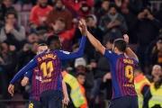 برشلونة يعلق آماله على مهارة ديمبيلي